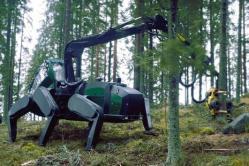 Plustech walking machine