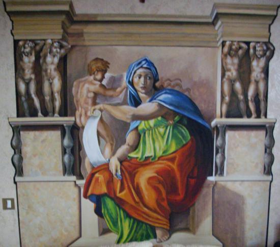 Les peintures de Fabien Vivier