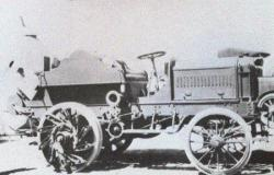 Phoenix and Buckeye tractor with retractable spikes