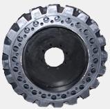 Rubbertrax unbreakable solid tires wheels