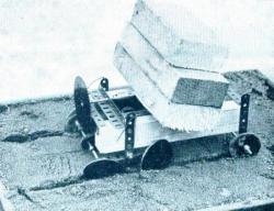 O. A. Goulden undertook tests on scaled model