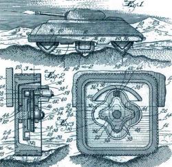 Square wheel patent