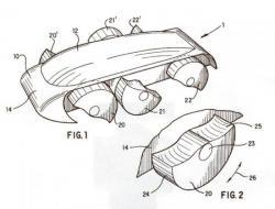 Half-wheels patent