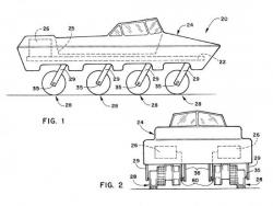 1 / 3 wheel patent off road vehicle
