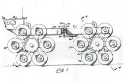 patent of a star wheeled vehicle