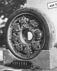 Spring-wheel for all-terrain vehicle