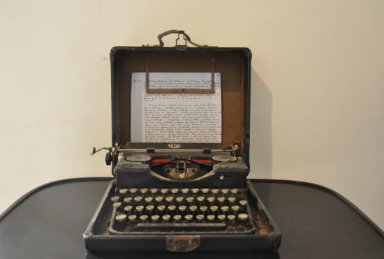 la machine à écrire de Carter