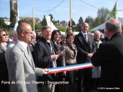 Foire de Château-Thierry : l'inauguration