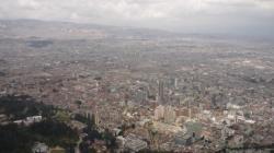 Vista desde Montserrate - Bogota