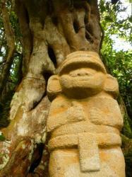 Estatua - parque archeologico San Augustin