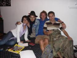 Angela, Gabelo, yo y Carlos - popayan