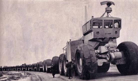 5 Letourneau Overland Train Mk II