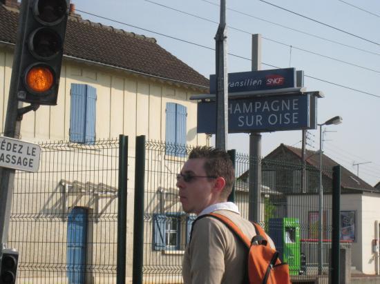 Passage à niveau à Champagne-sur-Oise