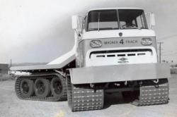 articulated vehicle of Wagner Mining Scoop Company
