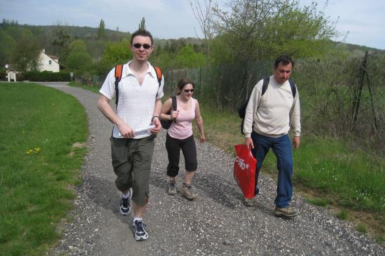 Aurélien, Nathalie, Bernard