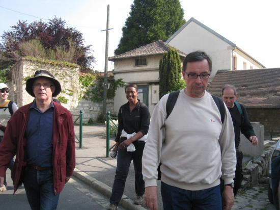 Jean Bernard et Maryse derrière