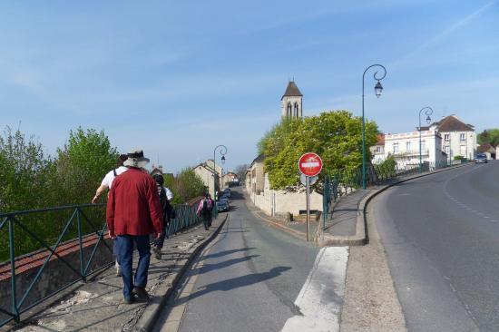 Rue Notre-Dame à Champagne-sur-Oise