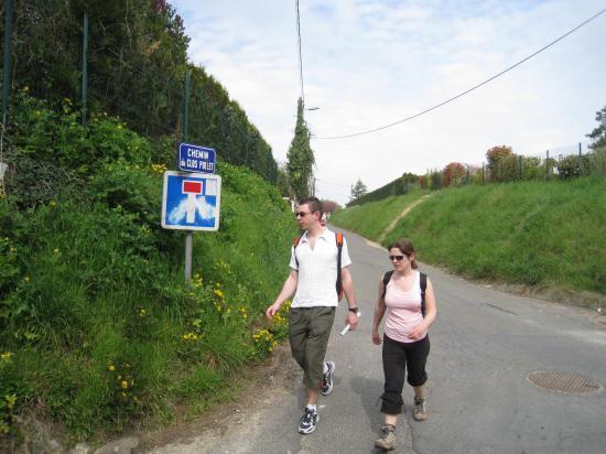 Aurélien et Nathalie, Chemin du Clos Pollet