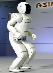 Honda Asimo, very successful with its humanoid form 