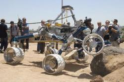 Sojourner Rocker Bogie's JPL