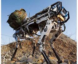 Big Dog from Boston Dynamics