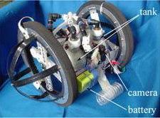 2 wheeled robot Leg-in-Robot V