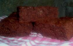 Gâteau chocolat-noix de coco sans gluten