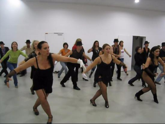 J'enseigne la danse sur