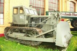 Stalin tractor of Caterpillar D7