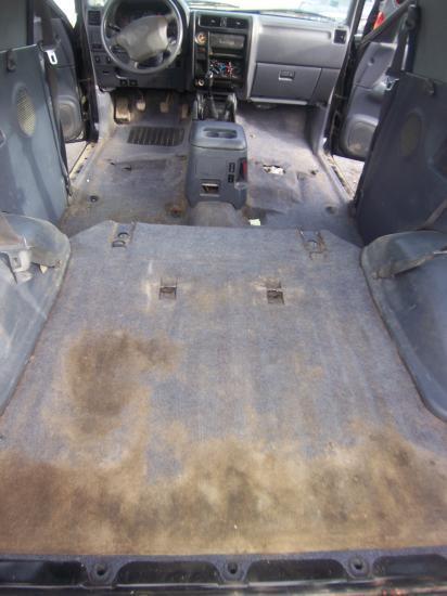 Intérieur Toyota Land Cruiser