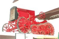 Bates Steel Mule tractor