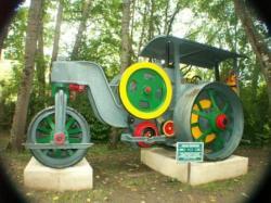 Laffly steamroller