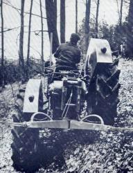 Pekrzett tractor equipped with K. Neumeier system