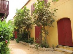 maison jaune Gorée