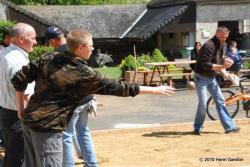 Concours de pétanque à la Chapelle Monthodon