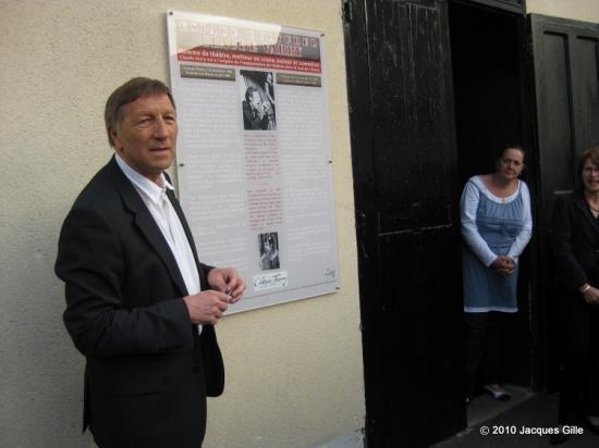 Discours du maire de Château-Thierry Jacques Krabal
