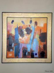 Awalé à Yaoundé, exposition de peintures