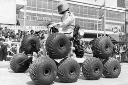 Gato Arana Car show of Barcelona 1972