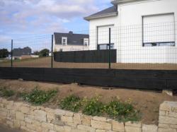 clôture en grillage souple