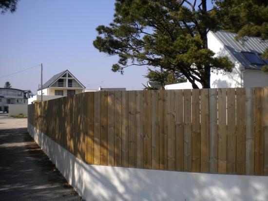 Souvent Les palissades en bois EL92