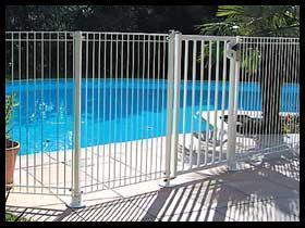 Clotures de piscine - Barriere piscine demontable ...