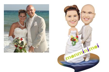 figurines mariages - Figurine Mariage Personnalise