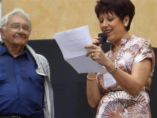 Marc GALABRU Auteur Comédien Metteur en scène et Nadine COSTA