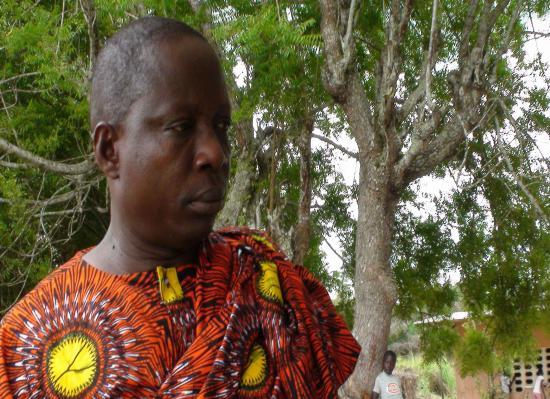 M. Léon Kassi, Président de la Mutuelle pour le Développement de Taboitien