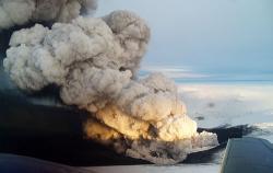le volcan Eyjafjöll