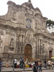 Iglesia algo (no me recuerdo) - Quito