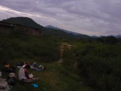 Campamento cerca de la frontera - Macara