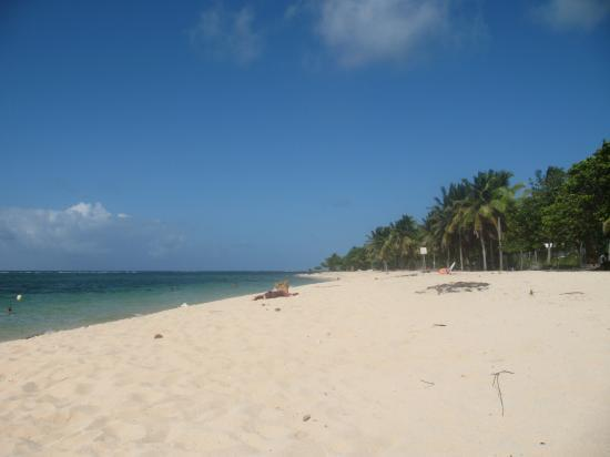 guadeloupe plage autre bord