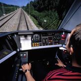 Photo 2: Vue du tableau de bord du conducteur où lui sont transmise les informations relatives au système EBI drive 50