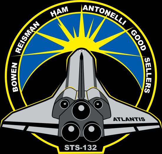 Logo STS 132